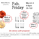 Fab. Friday De-Stress Projects TMW!